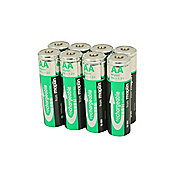 8 Rechargeable AA Battery NiMh 2500Mah Value Pack