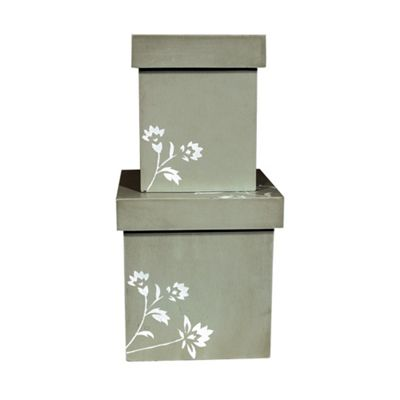 Set Of 2 Bergere Storage Boxes