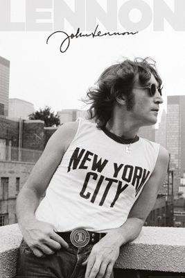 John Lennon NYC Profile Poster 61 x 91.5cm