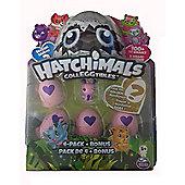 Spinmaster Hatchimals CollEGGtibles 4 Pack + Bonus GARDEN Pink Ant Season 2