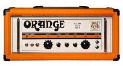 Orange AD 200 Watt Bass Head