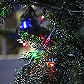 100 Multicoloured LED Christmas Tree Fairy Lights