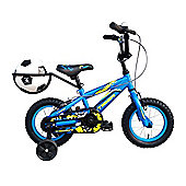 "Tiger Gerald Kids Bike 12"" Wheel Blue/Yellow"
