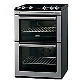 Zanussi Electric Double Oven ZCI660MXC Stainless Steel
