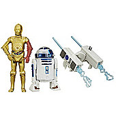 Star Wars The Force Awakens 2 Figure Pack - R2-D2 & C-3PO