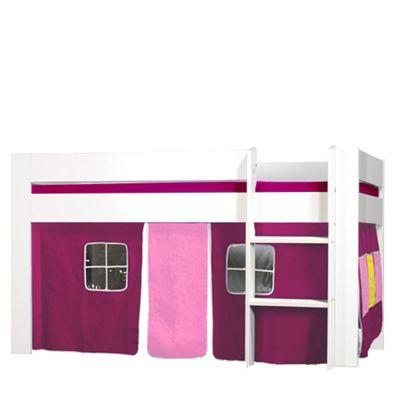 Kids World Midsleeper with Purple Tent
