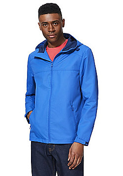 F&F Ripstop Shower Resistant Jacket - Blue
