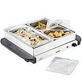 VonShef 200W 3 Pan Buffet Server