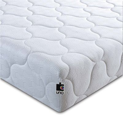 Breasley UNO Pocket 1000 Pocket Sprung Mattress with Quilted Cover - Single