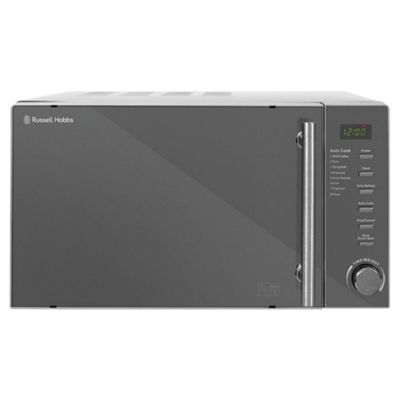 Russell Hobbs RHM2017 Solo Microwave, 20L - Silver