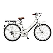 "Viking Mayfair 26"" Wheel Step Through Electric Bike White"