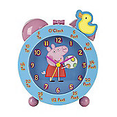 Peppa Pig Time Teaching Alarm Clock