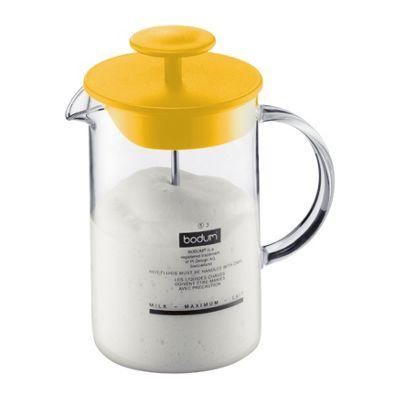 Bodum Latteo Milk Frother Jug, Yellow