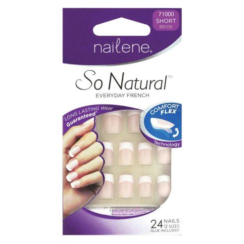 Nailene So Natural Artificial Nails Short 71000