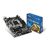 MSI H110M PRO-VH Intel Socket 1151 DDR4 USB3.0 PCIe SATA3 Matx Motherboard