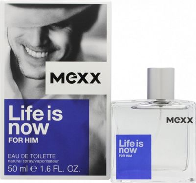 Mexx Life Is Now for Him Eau de Toilette (EDT) 50ml Spray For Men