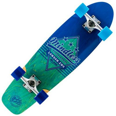 Mindless Longboards ML5310 Daily Grande II Complete Cruiser - Blue/Blue
