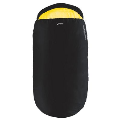 Gelert Bigabag Adult Sleeping Bag, Black