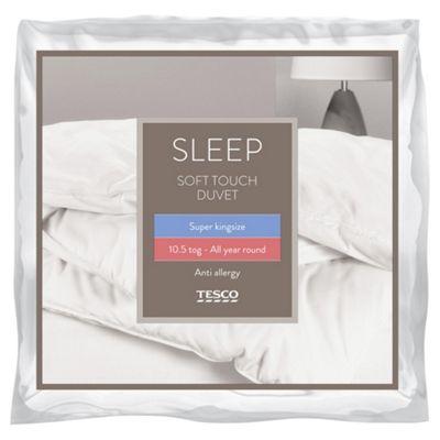 Tesco Anti Allergy Superking Duvet 10 5 Tog Soft Touch