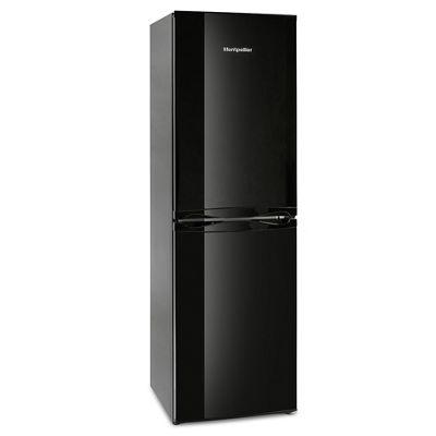 Montpellier MFF170K 214 litre Fridge Freezer Frost Free, Black