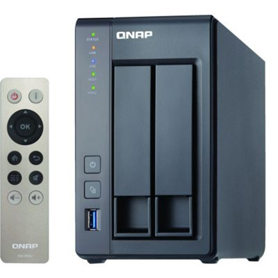 QNAP TS-251+-2G NAS Personal Cloud Storage Enclosure (Diskless)