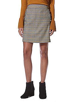 F&F Ruffle Pocket Mini Skirt - Multi