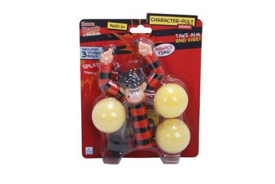 Beano Dennis The Menace & Gnasher Character Pult