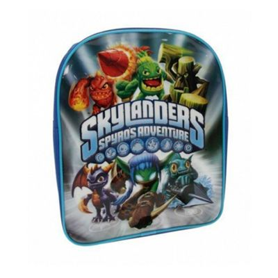 Skylanders Spyro's Adventure Grey PVC Front Backpack