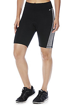 F&F Active Padded Cycling Shorts - Black