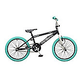 "Rooster Big Daddy Kids BMX Bike 20"" Wheel Freestyle Gryo Black"