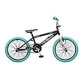 """Rooster Big Daddy Kids BMX Bike 20"""" Wheel Freestyle Gryo Black"""