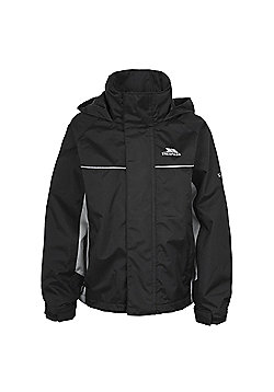 Trespass Boys Mooki Waterproof Jacket - Black