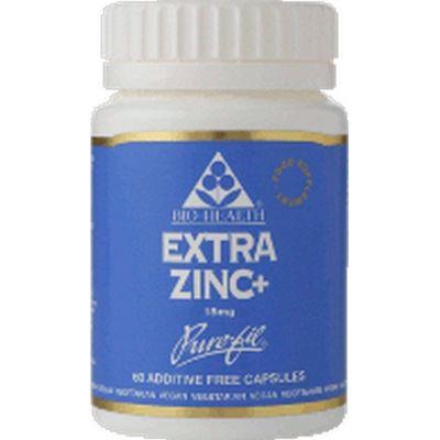 Extra Zinc Plus 15Mg Elemental Zinc Vegan Capsules