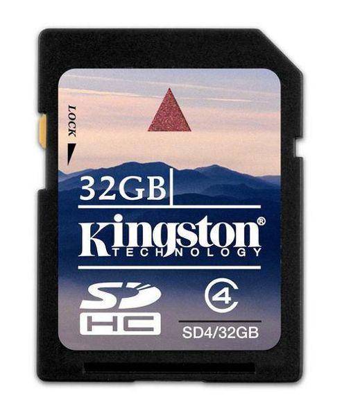 Kingston 32GB SDHC Card