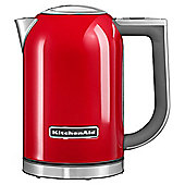 Kitchen Aid 5KEK1722BER 3000W 1.7 Litre Jug Kettle with Keep Warm Function in Red