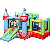 Bouncy Castle with Farmyard Ballpool