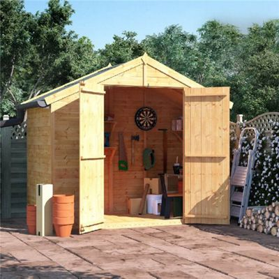 Garden Sheds 4 X 8 buy billyoh master tongue and groove apex wooden garden shed - 4 x