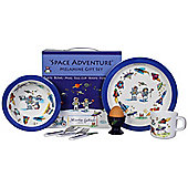 Children's Melamine Dinner Set 7 pc – Space Adventure