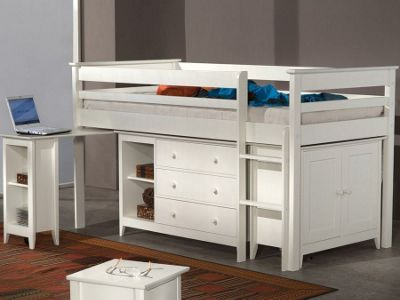 Cotswold Cabin Bed - White