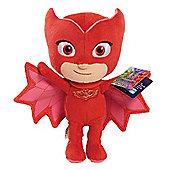 PJ Masks 20cm Beanie Soft Toy - Owlette