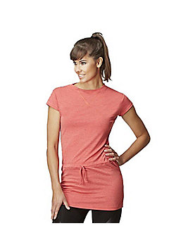 Long Length Gym Top - Orange