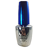 W7 Better Nails Rapid Shine Top Coat Nail Polish 15ml