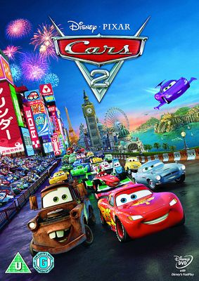 Cars 2 -Disney DVD