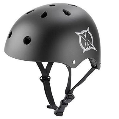 Xootz Black Skate Helmet - Medium 53-58cm