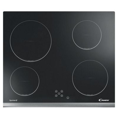 Candy-CH64XB 60cm Hi-Light Electric Ceramic Hob with Touch Controls