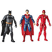 Justice League 12 Inch 3 Pack- Batman, Superman & The Flash