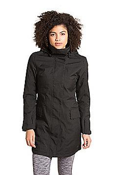 Zakti Rain On Coat - Black