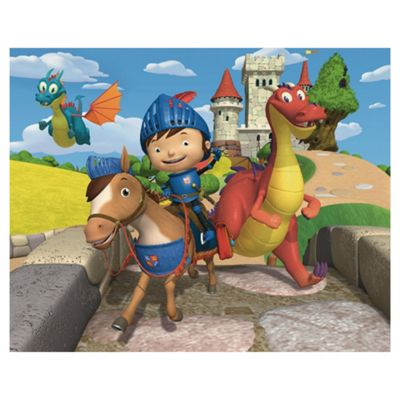 Mike the Knight Wallpaper Mural 8ft x 10ft