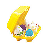 Tomy Play To Learn Hide 'n' Squeak Eggs