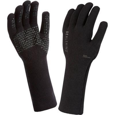 SealSkinz Ultra Grip Gauntlet Glove Black Size: XL